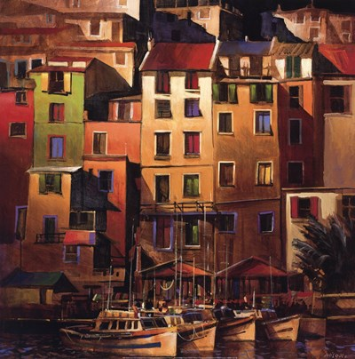 Mediterranean Gold Poster by Michael O'toole for $47.50 CAD