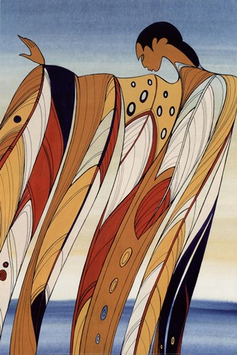 Black Hills Woman Poster by Maxine Noel for $32.50 CAD