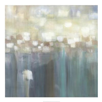 Aqua Light Poster by Karen Lorena Parker for $95.00 CAD