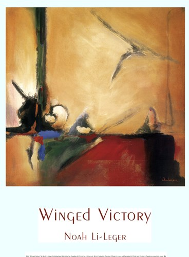 Winged Victory Poster by Noah Li-Leger for $13.75 CAD