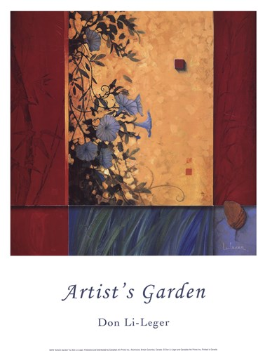 Artist's Garden Poster by Don Li-Leger for $12.50 CAD