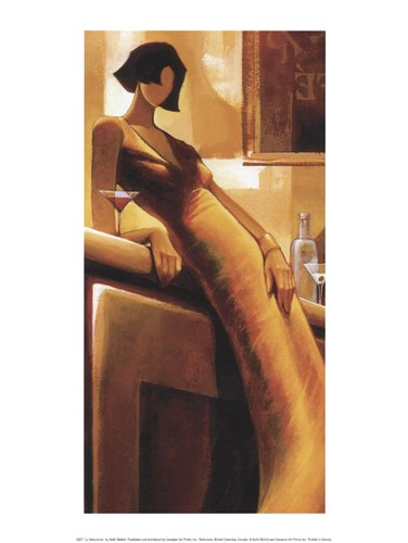 La Suductrice Poster by Keith Mallett for $18.75 CAD