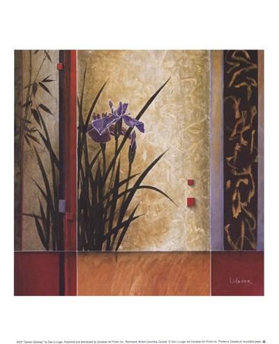 Garden Gateway Poster by Don Li-Leger for $8.75 CAD