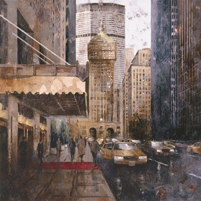 On Park Avenue Poster by Marti Bofarull for $85.00 CAD