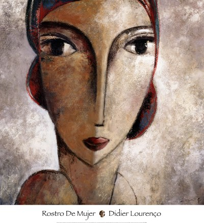 Rostro De Mujer Poster by Didier Lourenco for $50.00 CAD