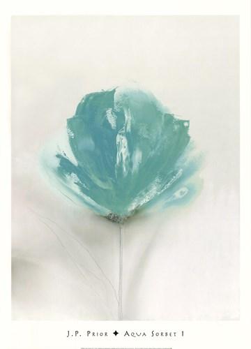 Aqua Sorbet I Poster by J.P. Prior for $40.00 CAD