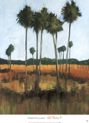 Tall Palms II Poster by Mark Pulliam for $50.00 CAD