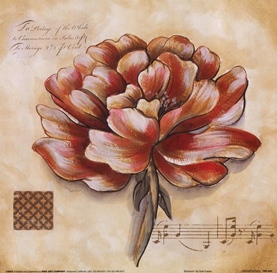 Blossoms I Poster by Ruth Franks for $17.50 CAD