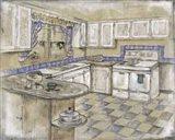 Mid Century Kitchen II (Sm)