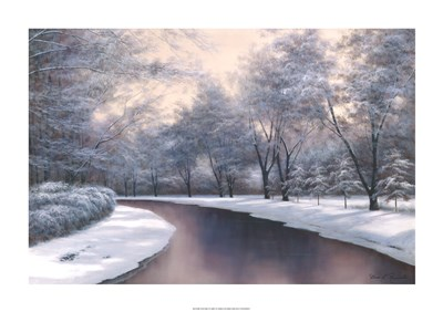Winter Sunlight Poster by Diane Romanello for $75.00 CAD