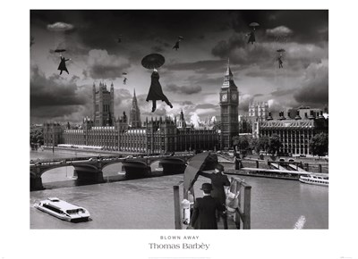 Blown Away Poster by Thomas Barbey for $43.75 CAD