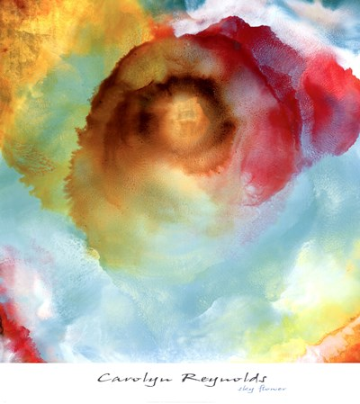 Sky Flower Poster by Carolyn Reynolds for $50.00 CAD