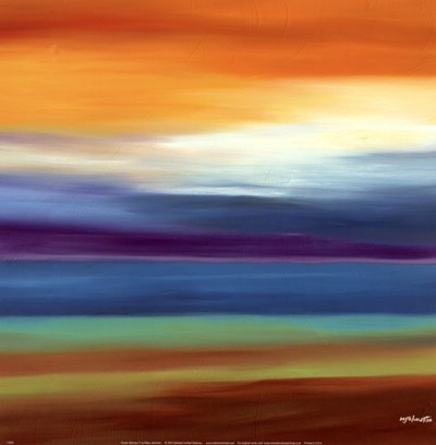 Prairie Abstract 3 Poster by Mary Johnston for $16.25 CAD