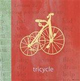 Vintage Toys Tricycle