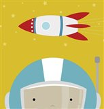 Peek-A-Boo Astronaut