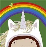Peek-A-Boo Unicorn