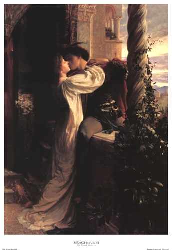 Romeo and Juliet Poster by Frank Dicksee for $53.75 CAD