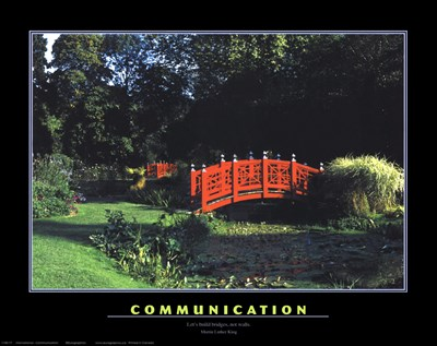 Communication Poster by Unknown for $20.00 CAD