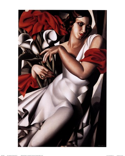 Portrait of Ira Poster by Tamara De Lempicka for $26.25 CAD