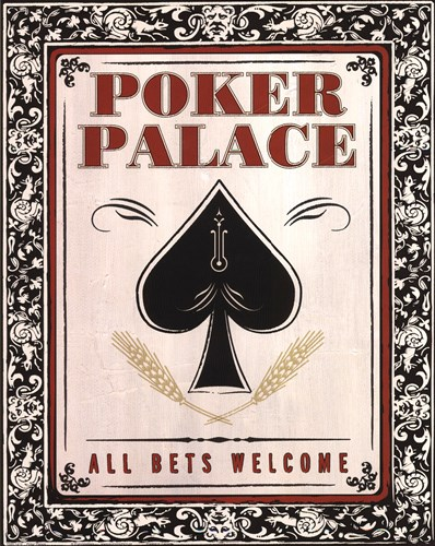 Poker Palace Poster by Unknown for $26.25 CAD