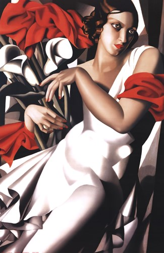 Portrait Of Ira Poster by Tamara De Lempicka for $53.75 CAD