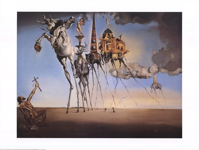 Temptation of St. Anthony, c.1946 Poster by Salvador Dali for $53.75 CAD
