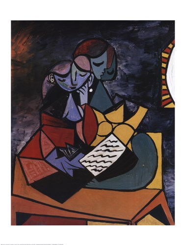 Lecture Poster by Pablo Picasso for $53.75 CAD