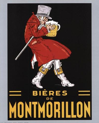 Bieres De Montmorillon Poster by Unknown for $20.00 CAD