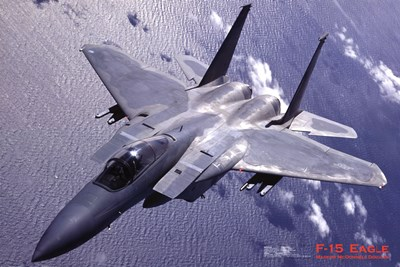 Airplane F-15 Eagle Poster by Unknown for $26.25 CAD
