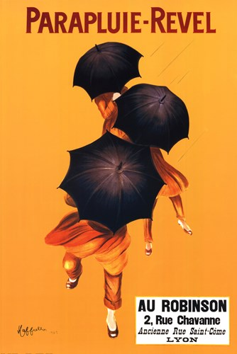 Parapluie-Revel Lyon Poster by Unknown for $26.25 CAD