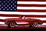 Corvette, 1957 - Us Flag