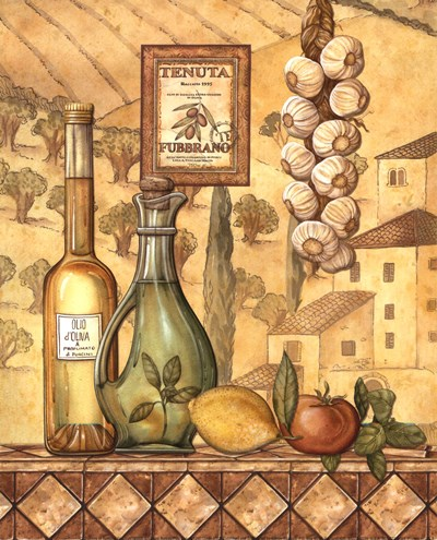 Flavors Of Tuscany IV - Mini Poster by Charlene Audrey for $7.50 CAD