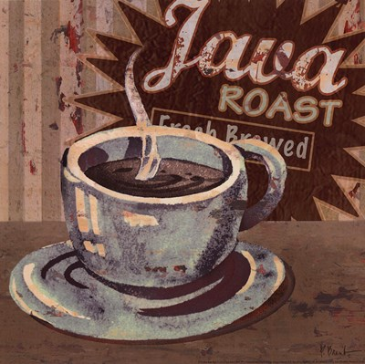 Coffee Brew Sign II - petite Poster by Paul Brent for $7.50 CAD
