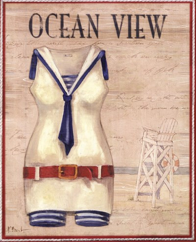 Ocean View - mini Poster by Paul Brent for $7.50 CAD
