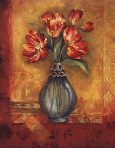 Pandora's Tulips Poster by Pamela Gladding for $32.50 CAD