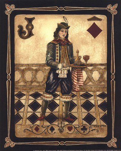 Harlequin Jack - Mini Poster by Gregory Gorham for $7.50 CAD
