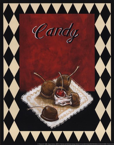 Desserts III Poster by Gregory Gorham for $7.50 CAD