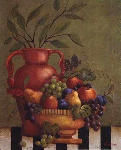 Fresco Fruit I Poster by Jillian Jeffrey for $20.00 CAD