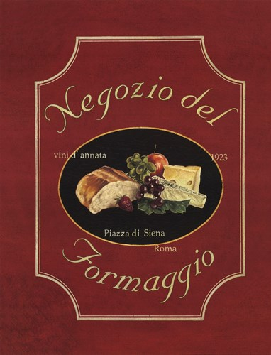 Negozio del Formaggio Poster by Catherine Jones for $20.00 CAD