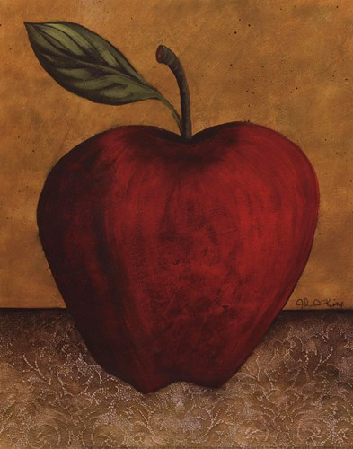 Apple - mini Poster by John Kime for $7.50 CAD