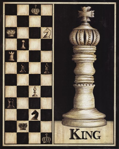 Classic King Poster by Andrea Laliberte for $20.00 CAD