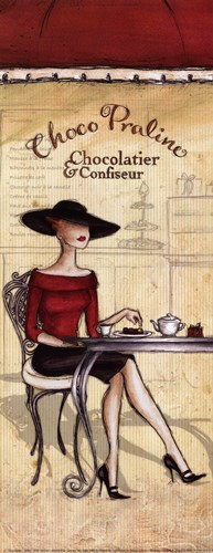 Chocolatier - petite Poster by Andrea Laliberte for $7.50 CAD