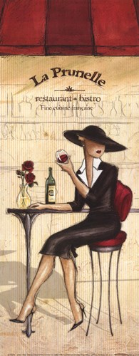 Bistro - petite Poster by Andrea Laliberte for $7.50 CAD
