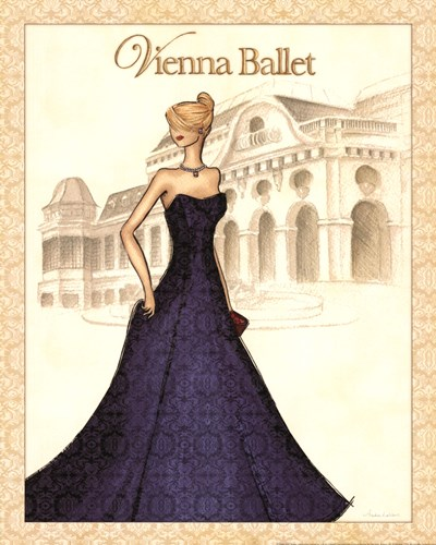Ballet Poster by Andrea Laliberte for $20.00 CAD