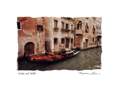Water and Walls Poster by Maureen Love for $20.00 CAD