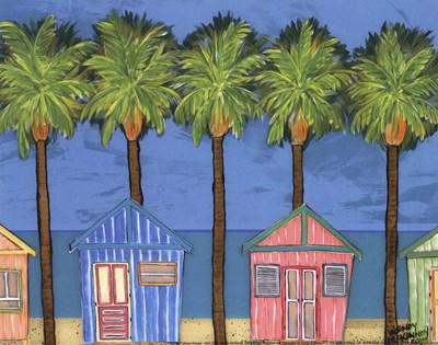 Cabana Breeze - mini Poster by Wendy McKinney for $7.50 CAD