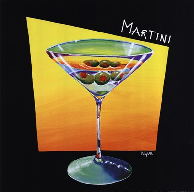 Martini Poster by Mary Naylor for $12.50 CAD
