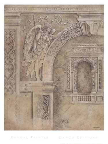 Arch Spandrel #1 Poster by W.M. Randal Painter for $37.50 CAD
