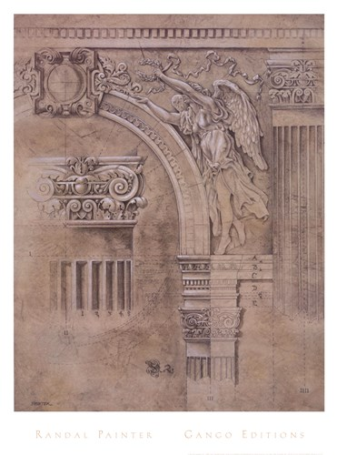 Arch Spandrel #2 Poster by W.M. Randal Painter for $37.50 CAD