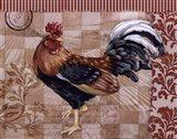 Bergerac Rooster Red II - mini
